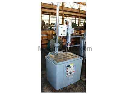 "10 KVA Electro Arc 2-DBQT TAP DISINTEGRATER, DOUBLE ARM SUPERSTRUCTURE, HI-ACCURACY ""Q"" HEAD"