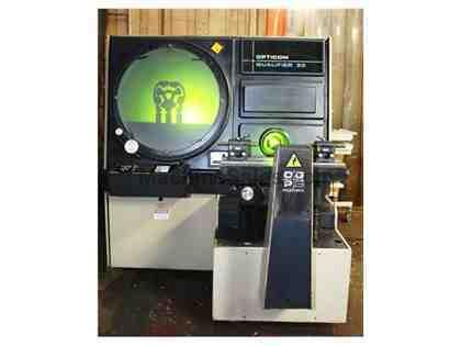 "30"" Screen OGP OQ-30S OPTICAL COMPARATOR, CLIP PLUS AUTO TABLE POSITIONING, PROJ. III"