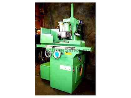 "6"" Width 18"" Length Brown & Sharpe 618 VALUEMASTER SURFACE GRINDER, ROLLER BEARING TABLE, FINE FEEDS (.0001"")"