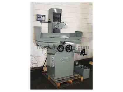 "8"" Width 18"" Length Mitsui-Seiki 250 MH SURFACE GRINDER, ROLLER BEARING TABLE, PMC, SET UP FOR COOLANT"