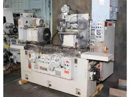 "16"" Swing 24"" Centers Shigiya GPA-40-60 OD GRINDER, POWER OTW DRESSER, FULL AUTO CYCLE,"