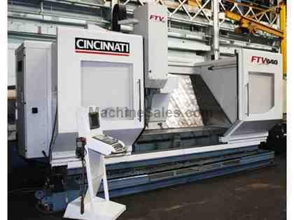 "100"" X Axis 25"" Y Axis Cincinnati FTV-640-2500 VERTICAL MACHINING CENTER, Fanuc 18i-MB, Hi-Torque Option 5,000 RPM,36 ATC"