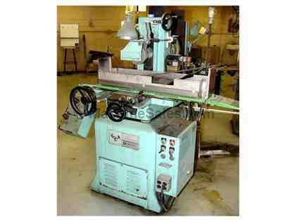 "6"" Width 18"" Length Boyar-Schultz 2A618 SURFACE GRINDER, hyd. Long & cross feeds, heavy duty cast iron base"