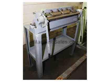 "16Ga Thickness 24"" Width Diacro 24 FINGER (BOX & PAN) BRAKE, On Factory Stand"