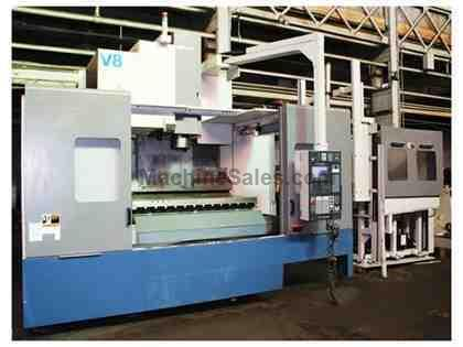 "60.2"" X Axis 26"" Y Axis Mori Seiki MV653 w/ APC VERTICAL MACHINING CENTER, MSG-501 (Fanuc 18M) Control"