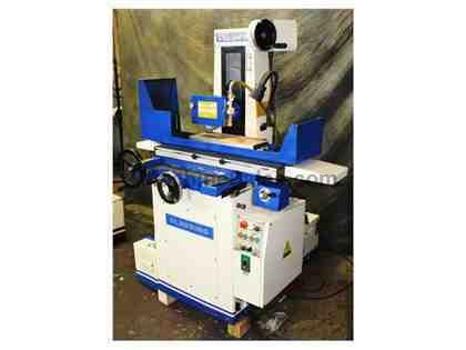 "6"" Width 18"" Length Clausing CSG-3A618 SURFACE GRINDER, 2X AUTO FEEDS, power rapid, HUCK, COOLANT"