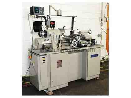 "11"" Swing 18"" Centers Sharp 1118H PRECISION ENGINE LATHE, Inch/Metric,Digital Vari-Speed,5C Collet,Acu-Ri"
