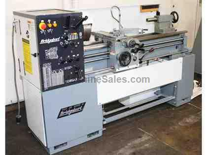 "13"" Swing 40"" Centers Bridgeport-Romi TORMAX 13-5 ENGINE LATHE, Inch/Metric, 3-Jaw, 5 HP, Foot Brake,"