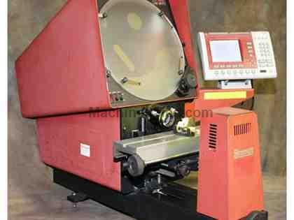 "14"" Screen Starrett HE-350 OPTICAL COMPARATOR, QC200 DRO, LENS,"
