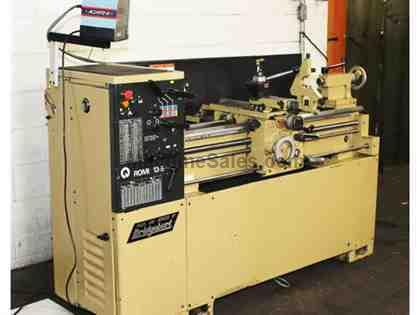 "13"" Swing 40"" Centers Bridgeport-Romi 13-5 ENGINE LATHE, Inch/Metric,Acu-Rite DRO,Taper,3&4 Jaw, Steady"