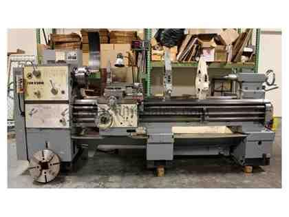 "24"" Swing 80"" Centers Toolmex TUR630M ENGINE LATHE, Inch/Metric, Trak DRO, 3&4 Jaw, (2) Steady Rests,"