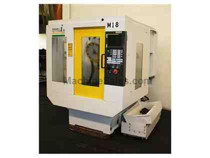 "19"" X Axis 15"" Y Axis Fanuc RoboDrill  T14-1B VERTICAL MACHINING CENTER, Fanuc 16m Controll 14 ATC BT30 , 15,000 Spindle"