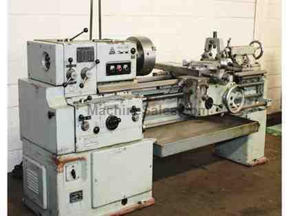 "16"" Swing 60"" Centers Tos SN40A ENGINE LATHE, Inch/Metric, 3-Jaw, Trav-A-dial"
