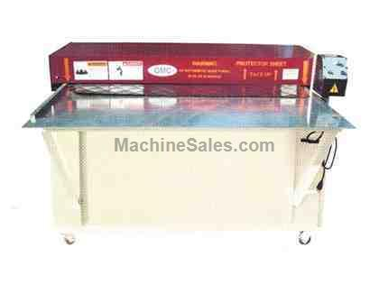 "GMC DFM-20 *Taiwan Made* MISC, 50"" x 20ga. Diamond forming machine"