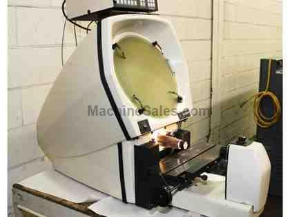 "14"" Screen Scherr-Tumico 20-3500 OPTICAL COMPARATOR, QC 2000 DRO W/Prog. Geo funct.,"