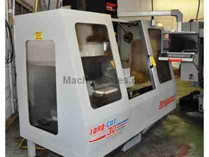 "30"" X Axis 16"" Y Axis Bridgeport TOR-CUT 30 VERTICAL MACHINING CENTER, 8,000 RPM, Cat40, 22 ATC"