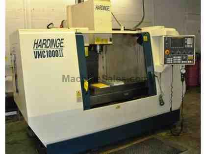 "40"" X Axis 20"" Y Axis Hardinge VMC-1000 II VERTICAL MACHINING CENTER, Fanuc O-MD Control, 8,000 RPM, Cat 40, 20 ATC"