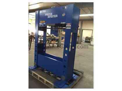 100 Ton Pressmaster 100 Ton (Demo Machine) H-FRAME HYDRAULIC PRESS