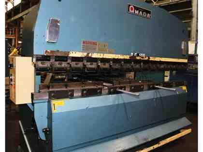 "100 Ton 122"" Bed Amada RG-100 PRESS BRAKE, DRC Dynabend 1 Single Axis Back Gauge"