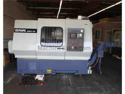 SNK JAPAN SUT-70 SUT70 CNC LATHE TURNING CENTER HAAS BIG BORE VIDEO
