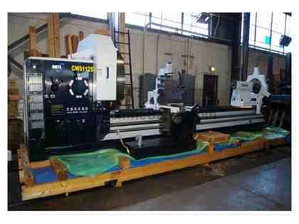 "DALIAN NEW CW-M HVY DUTY ENGINE LATHE MODEL CW61125M/4000 ( 50"" X 157&"