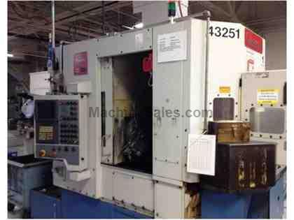 "Gleason,Phoenix 125,.25""-5""Max.Dia.,Hob Lengths to 8.5"",GE Fanuc 160i-M,2001 (2)"