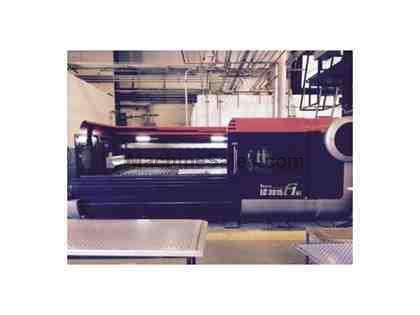 4000 WATT AMADA LC3015F1NT LASER CUTTING SYSTEM W/PROGRAMMABLE NOZZLE CHANG