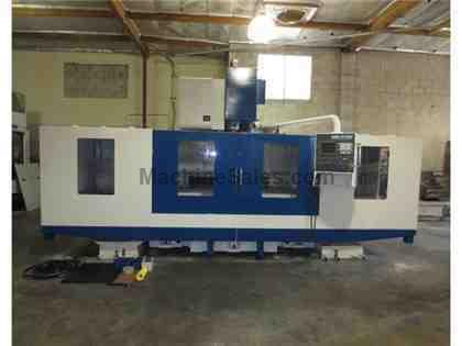 2005 FEMCO KAFO VMC-21100 CNC VERTICAL MILL MACHINING CENTER 85X 39Y