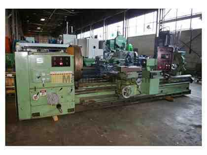 "36""/47"" X 140"" SUMMIT HEAVY DUTY GAP BED ENGINE LATHE, MODEL"