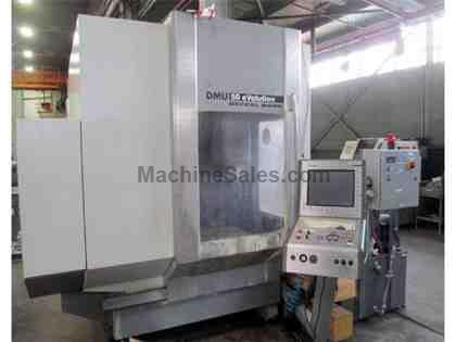 Deckel Maho Model DMU50 Evolution CNC Vertical Machining Center