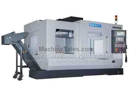 "40"" x 20"" SHARP® Linear Way Vertical Machining Centers"
