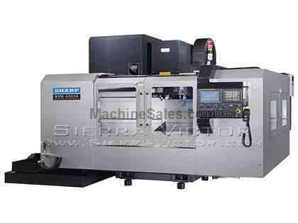 "43"" x 23"" SHARP® Box Way Gearhead Vertical Machining Center"