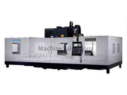 "85"" x 40"" SHARP® Box Way Gearhead Vertical Machining Center"