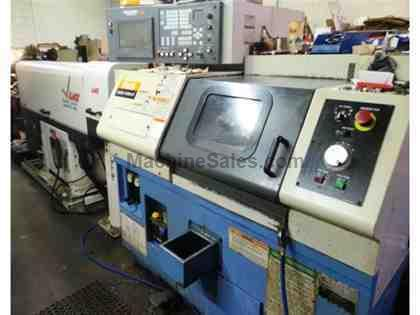2001 Mazak Quick-Turn 6T CNC Turning Center with Mazatrol Fusion 640T CNC