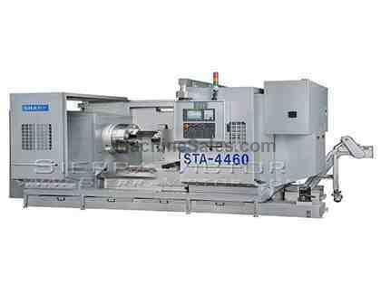 "37"" x 59"" - 236"" SHARP® CNC Big Bore Lathe"