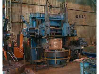 King Vertical Boring Mill 72""