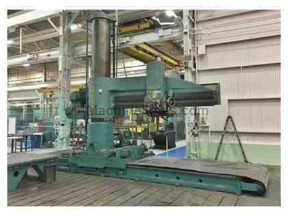 "CARLTON 5A 10' 26"" Travelling Column Radial Drill"