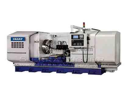 "50"" x 40"" SHARP® High Precision CNC Flat Bed Lathe"