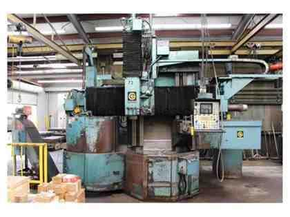 "Giddings & Lewis 36"" 4-Axis CNC Vertical Boring Mill"