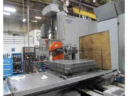 "6"" Lucas CNC Horizontal Boring Mill Table Type"