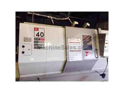 Gently Used 2009 Haas SL40T w/ Approx 250 Hrs & Extra Performance Pkg