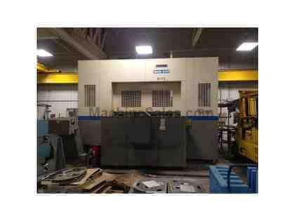 MODEL MAB-80H 5-AXIS OKUMA HORIZONTAL MACHINING CENTER, 2004