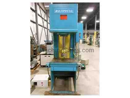1985 MULTIPRESS MODEL FH20-20H HYDRAULIC PRESS, 20 TON