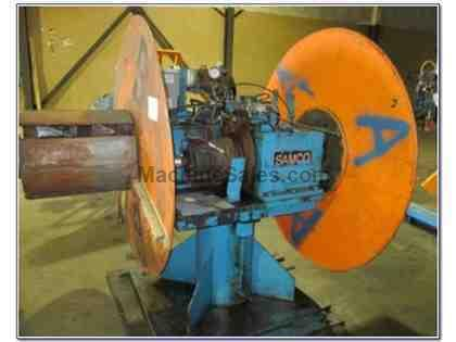 10,000# SAMCO MDL #SU-10,000-DE DOUBLE END UNCOILER