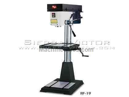 "20"" RONG FU® 12 Speed Mill / Drill Machine"