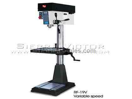 "20"" RONG FU® Inverter Variable Speed Mill / Drill Machine"