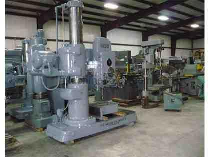 "4' X 13"" Used American Radial Drill"