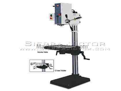 "22"" RONG FU® Drilling Machine with Cross Table"