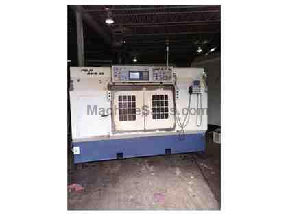 FUJI ANW-30T2 TWIN SPINDLE CNC LATHE WITH GANTRY LOADER