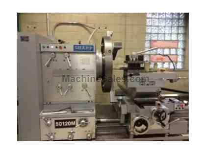 2014 Sharp 50120M Heavy Duty Lathe